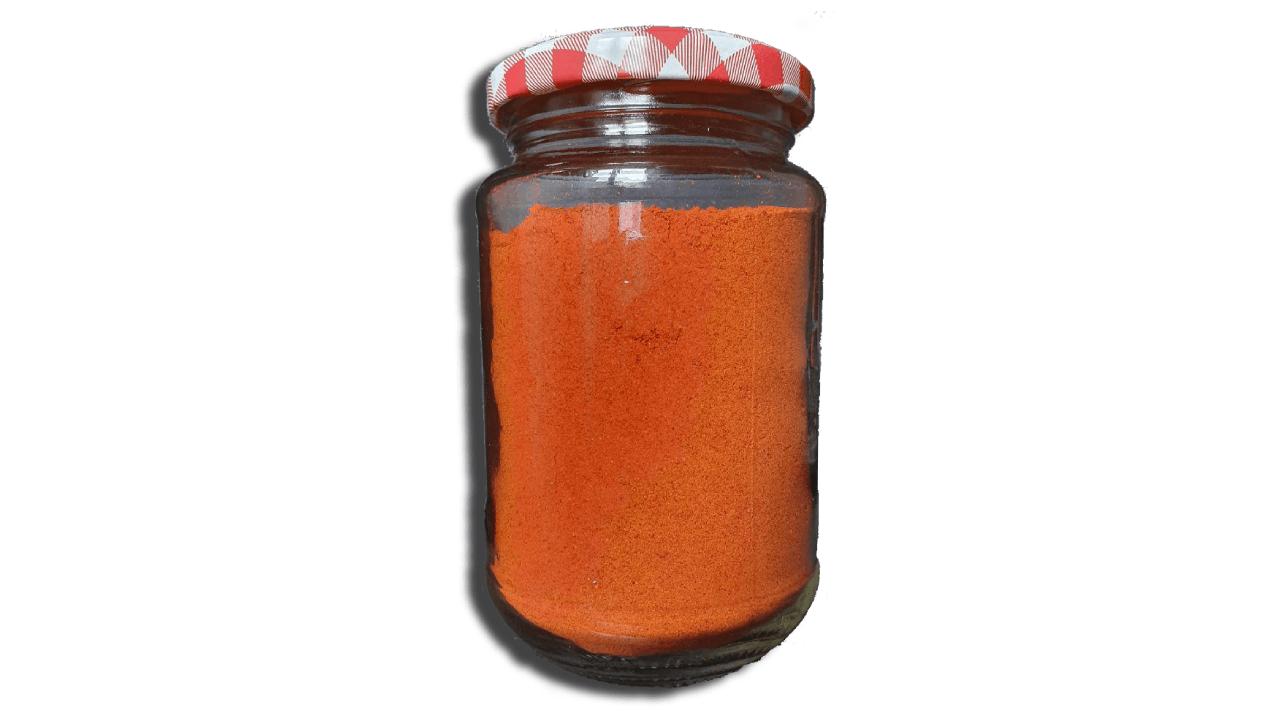 Peperoncino in polvere