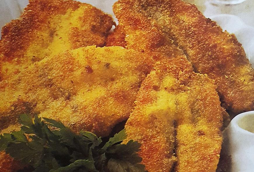 Acciughe fresche impanate