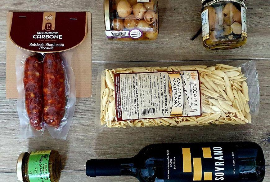 La Food experience di Cibi Lucani